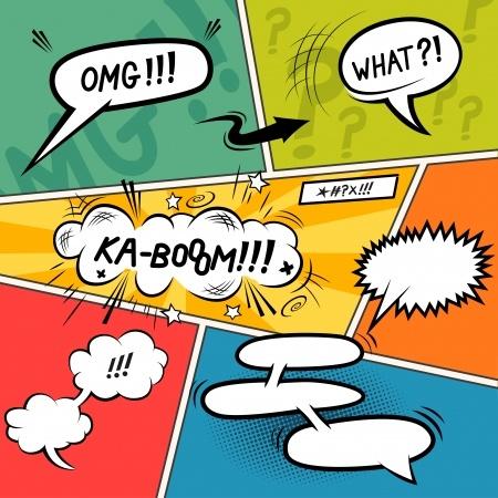 Bd de nombreux quizz gratuits pour s 39 amuser for Comic book template powerpoint